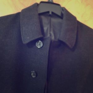 Chaps black car coat.